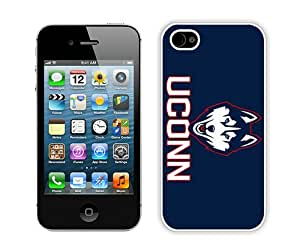 Beautiful And Unique Designed Case For iPhone 4S With new uconn (2) Phone Case