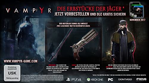 Koch Media Vampyr vídeo - Juego (Xbox One, Acción / Aventura, M ...