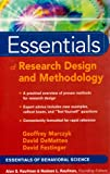 Essentials of Statistics for the Social and Behavioral Sciences with Essentials of Research Design and Methodology Set, Cohen, Barry H., 047029308X