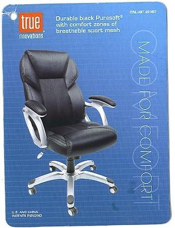 Wondrous Amazon Com True Innovations Durable Leather Office Chair Cjindustries Chair Design For Home Cjindustriesco