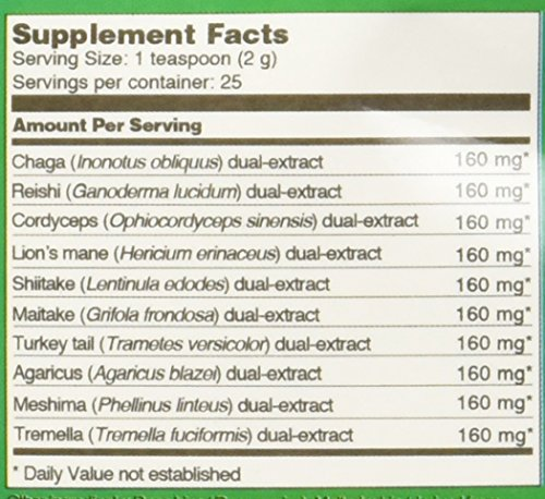 Four-Sigmatic-10-Mushroom-Blend-30-Servings-Vegan-and-Paleo-60-grams
