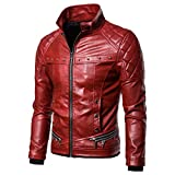 Landscap Men's Leather Jacket Vintage Steam