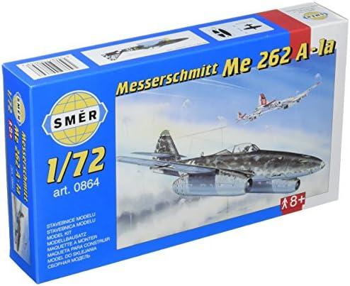 セマー 1/72 メッサーシュミットMe262Aシュワルベ戦闘機 プラモデル SME72864