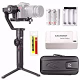 Zhiyun Crane 2 (2017 New Crane2) 3-Axis Handheld Gimbal Stabilizer w/ Follow Focus 7lb Payload OLED Display 18hrs Runtime Toolless Balance Adjustment for Camera Weighing 1.1lb to 7lb Zhiyun Crane-2