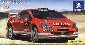 Heller - 80115 - Maqueta para Construir - Peugeot 307 WRC ...