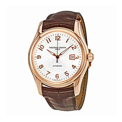 Frederique Constant Men's FC-303RM6B4 Runabout Automatic Rosetone Case Brown Strap Watch