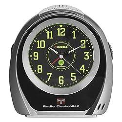 LLR60999 - Lorell Atomic Set Alarm Desk Clock