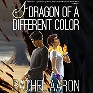 A Dragon of a Different Color: Heartstrikers, Book 4 Audiobook by Rachel Aaron Narrated by Vikas Adam