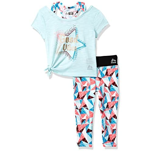 RBX Girls 2 Pc Set Active Top//Capri