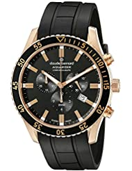 Claude Bernard Mens 10223 37RNCA NIR Aquarider Analog Display Swiss Quartz Black Watch