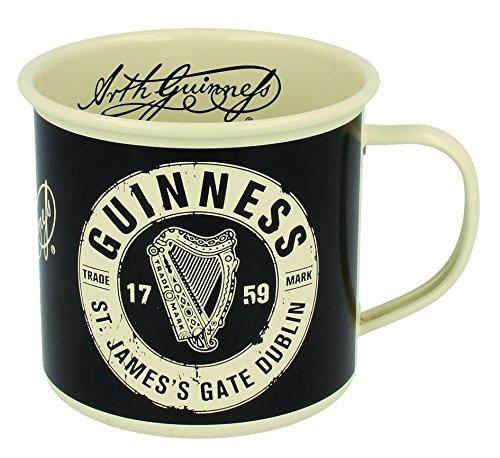 Guinness Enamel Mug With St