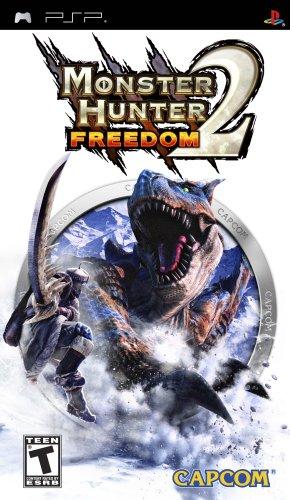 Monster Hunter Freedom 2 - Sony PSP - Psp Games For Teen