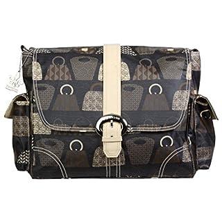 Kalencom Matte Coated Buckle Bag, Bag Lady Stone