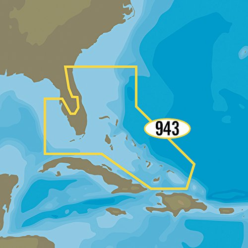 C-MAP MAX-N+ NA-Y943 - Florida & The Bahamas (NA-Y943) (57725)