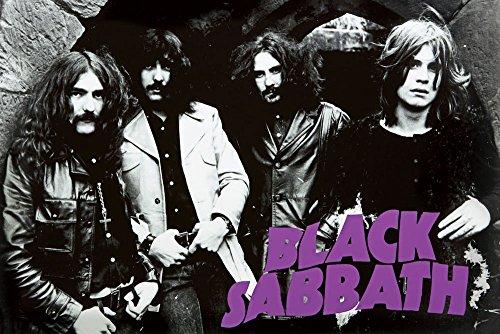 Black Sabbath Group Poster - 24