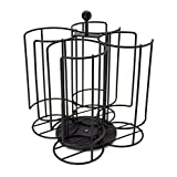 The storage House 40 T-Disc Rotating Carousel Holder, Black, 1 Count