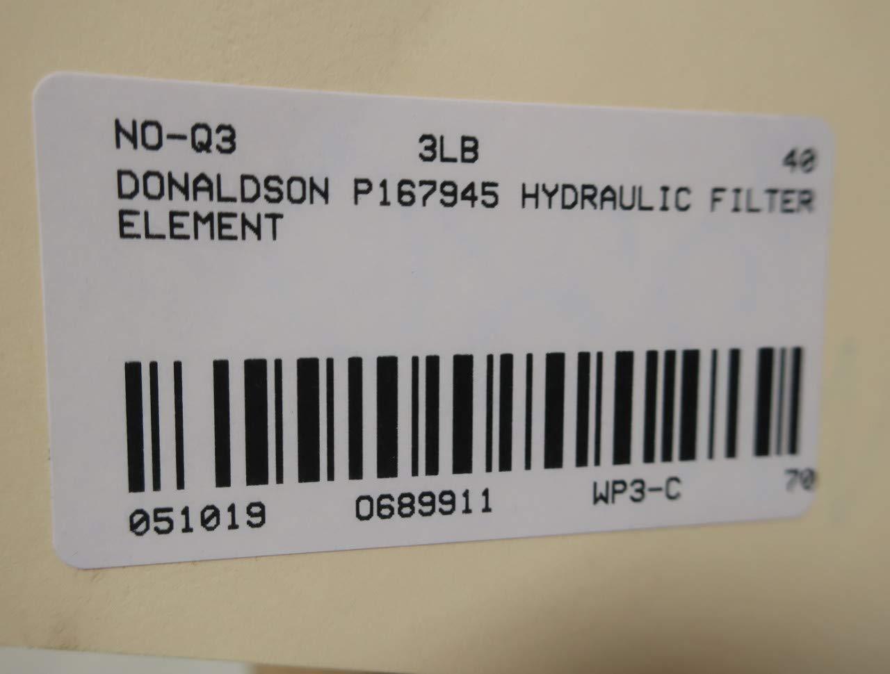 DONALDSON P167945 Hydraulic Filter Element