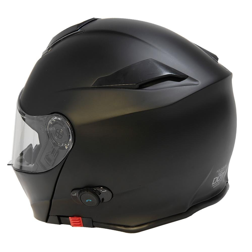 Amazon.com: TORC Unisex-adult full-face-helmet-style T28B Bluetooth Integrated Motorcycle Helmet With Graphic (Matte Black,Large),1 Pack: Automotive