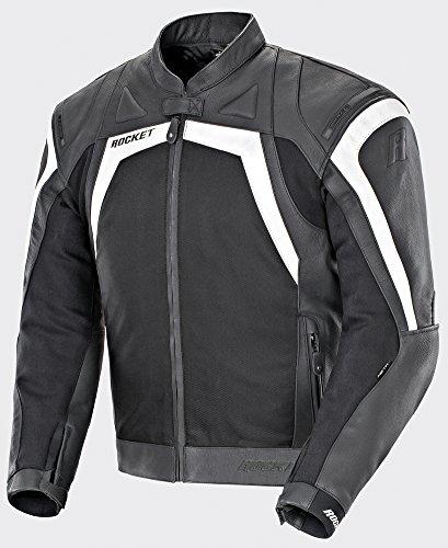Joe Rocket Meta-X - Men's Leather Sportbike Motorcycle Jacket - 48