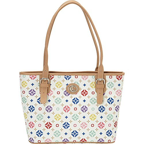 aurielle-carryland-starburst-signature-tote-white