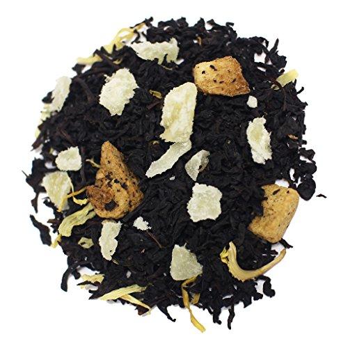 The Tea Farm - Mixed Mango Pineapple - Premium Tropical Hawaiian Loose Leaf Black Tea Blend (2 Ounce Bag)