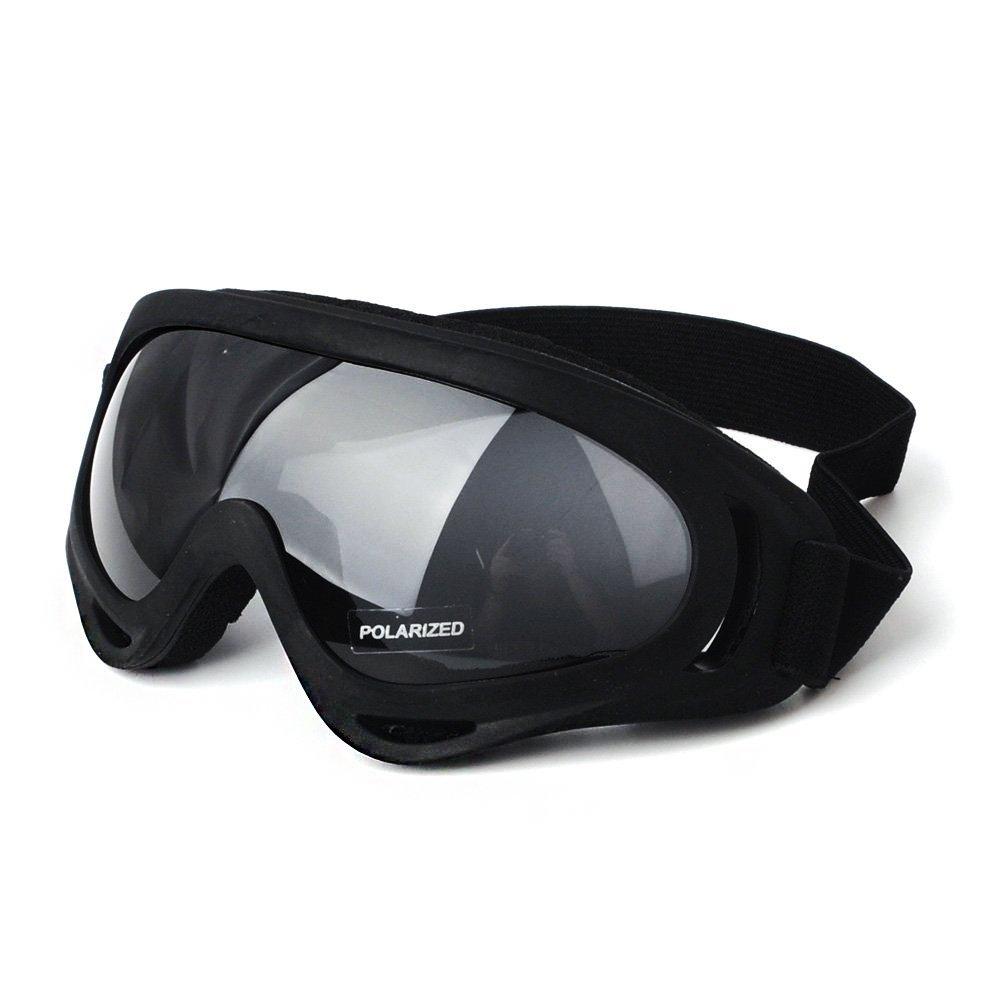 Motorcycle Glasses Riding Goggles,KEMIMOTO Dirt Bike Goggle ATV Off Road Racing Eyewear Polarized UV Protective Outdoor Glasses