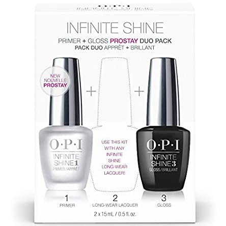 OPI Nail Polish Base Coat Primer & Gloss Top Coat,...