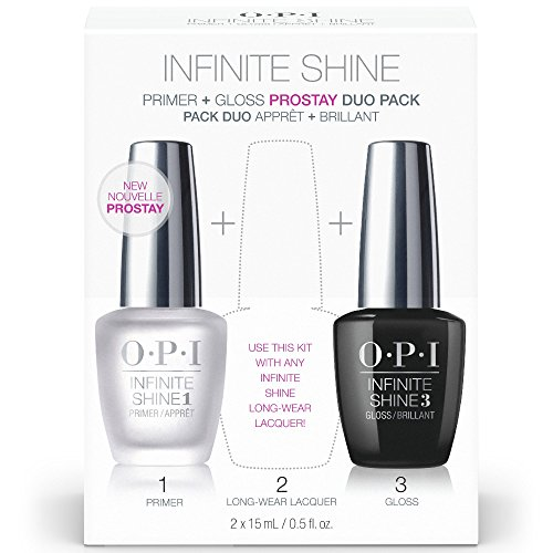 (OPI Infinite Shine ProStay Primer & Gloss Duo Pack, 1 Fl Oz )