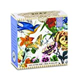 Michel Design Works Little Soap, Bluebird Floral, 3.5 Ounce