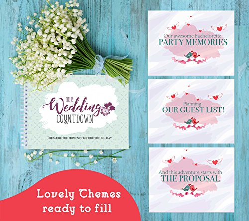 wedding countdown book a keepsake
