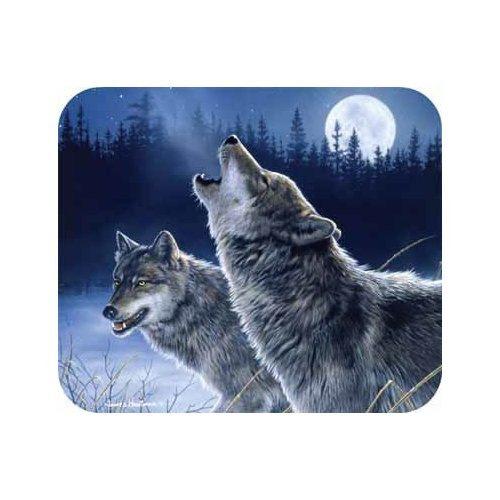 TAGS BY DESIGN HB-MPD-10771 Wolves Howling Mouse PAD 9