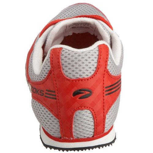 Brooks Unisex Nerve LD Running Shoe Red/Grey/Black mYv00UKA2