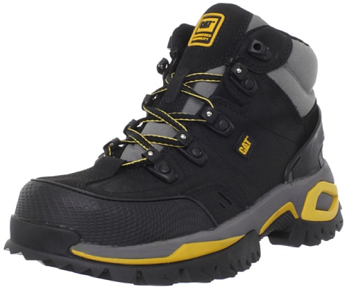 Caterpillar Men's Interface Hi Steel Toe Work Shoe