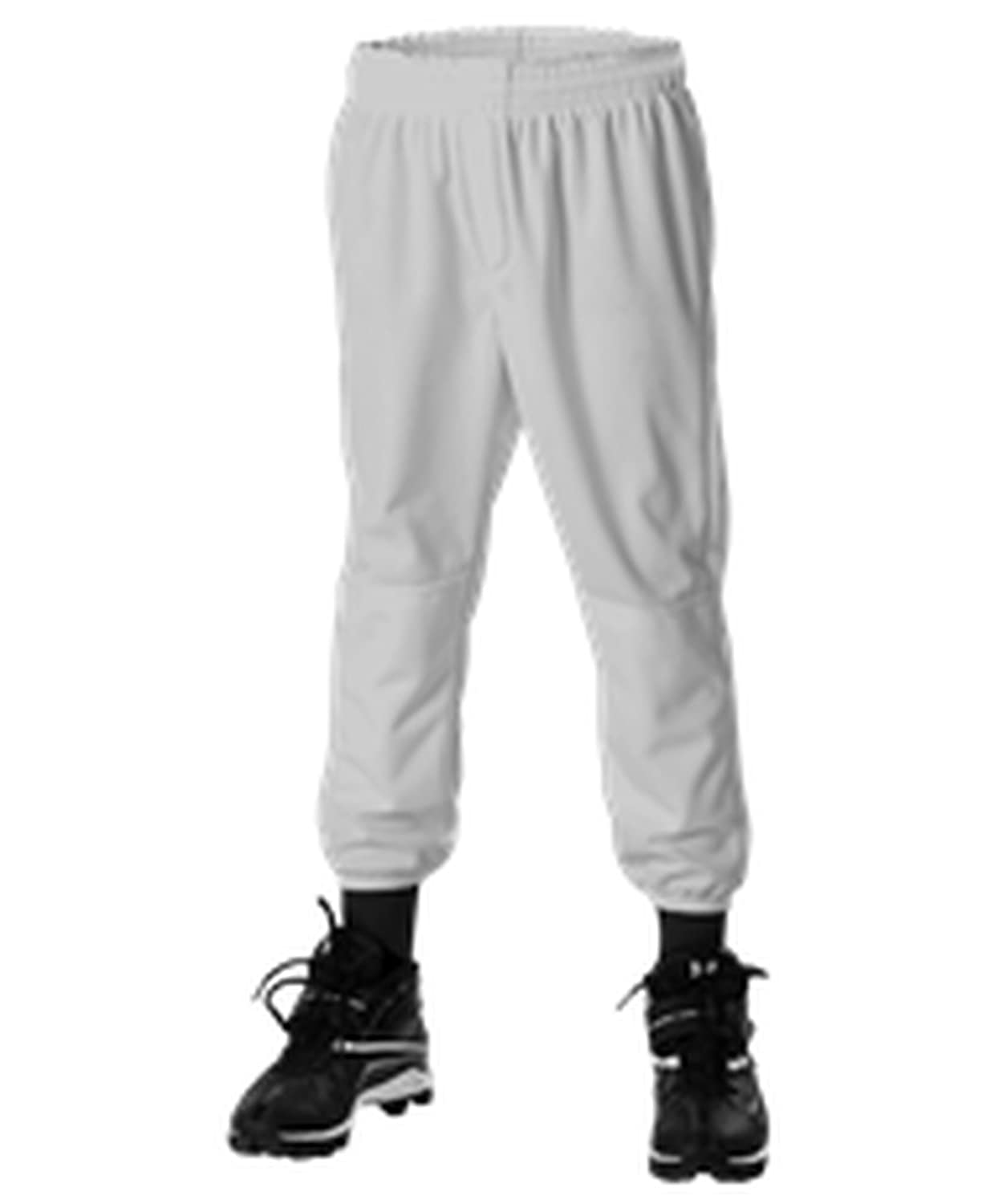 Alleson Athletic PANTS ボーイズ カラー: グレー B072KMTPSS