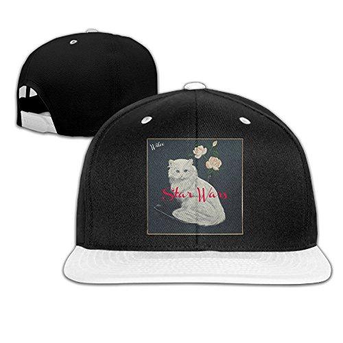 Gsyful Punk Wilco Star Wars Baseball Snapback Cap Hat White
