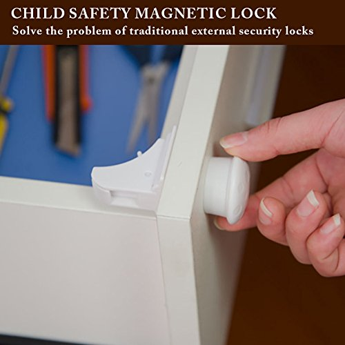 New Invisible Child Safety Drawer Lock Magnetic Security Lock for Home Decoration