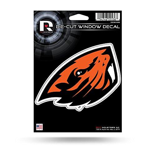 NCAA Oregon State Beavers Die Cut Window Decal, 5.75'' x 7.75'', Orange by Rico