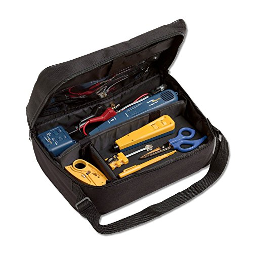 Fluke Networks Electrical Contractor Telecom Kit II with Pro3000 Analog Tone and Probe Kit and Case