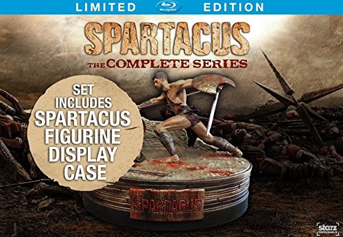 Blu-ray : Spartacus: The Complete Series (Limited Edition, Boxed Set, Oversize Item Split, 13 Disc)