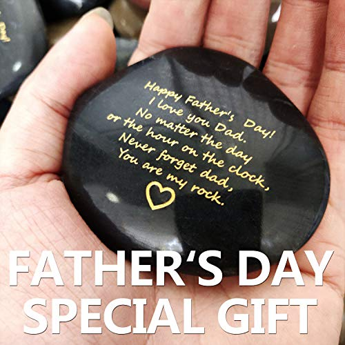 Father's Day Gift from Daughter or Son Happy Father's Day You are My Rock Rare Unique Gift (Color Random)