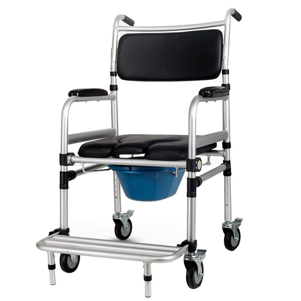 激安特価  家庭用車椅子用便座椅子折りたたみ可能なアルミ製のバスチェア - - ペダル付き B07L6CTH77、トイレ B07L6CTH77, ヒバグン:fa9d7aa9 --- arianechie.dominiotemporario.com