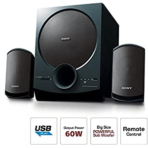 Best Sony SA-D20 C E12 2.1 Channel Multimedia Speaker System with Bluetooth in India