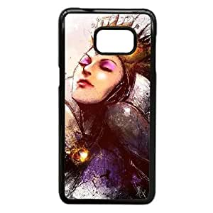 Samsung Galaxy S6 Edge Plus case , Evil Queen by Vincent Vernacatola Cell phone case Black for Samsung Galaxy S6 Edge Plus - LLKK0725241