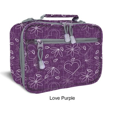 Cody Lunch Bag with Shoulder Strap Color: Love Purple