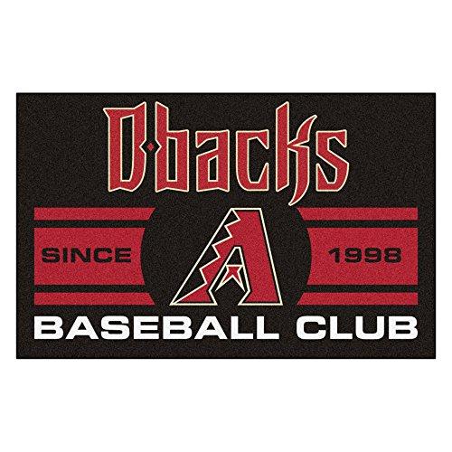 (FANMATS 18459 Arizona Diamondbacks Baseball Club Starter Rug )