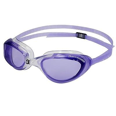 3a28d9122af97a Barracuda Swim Goggle AQUAVIPER- One-piece Frame Soft Seals Streamlined  Design, Anti-