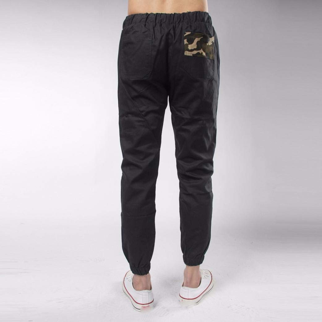 Molyveva Mens Casual Pant Comfy Sweatpants Sizes M to 3XL with Elasticated Waist