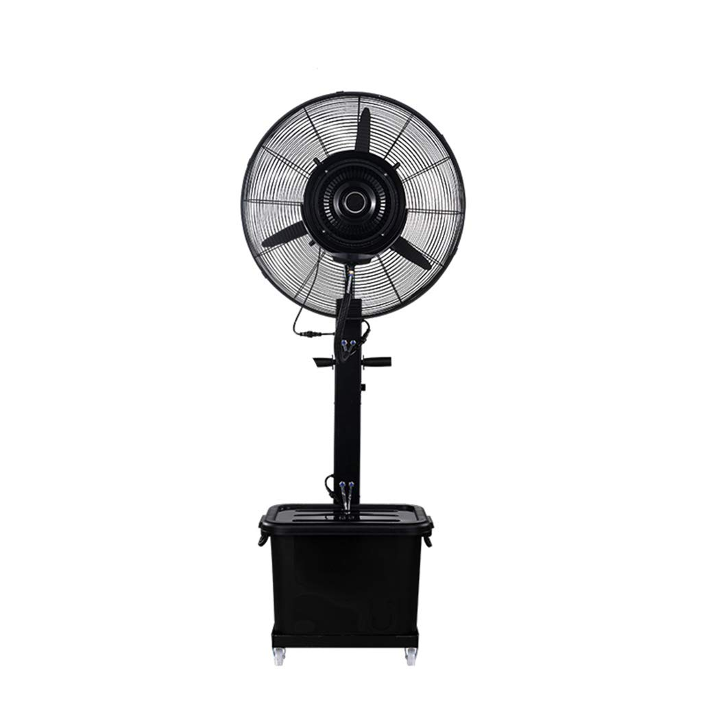Space-Saving Spray Industrial Electric Pedestal Fan Silent Floor Standing Oscillating Rotating Simple and Easy to Assemble Water Capacity: 43L by LIYIN-Fan