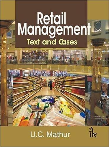 Retail Management: Text and Cases: U.C. Mathur: 9789380578668: Amazon.com: Books