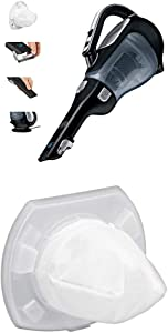 BLACK+DECKER Platinum BDH2000L 20-Volt Max Lithium Ion Cordless Hand Vacuum with VF110 Dustbuster Replacement Filter